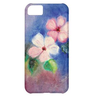 Vorzüglicher Hartriegel mit Blumen iPhone 5C Schale