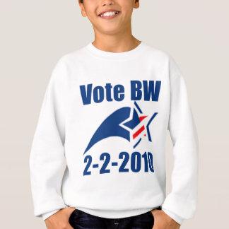 vote-bw-2-2-2010 sweatshirt