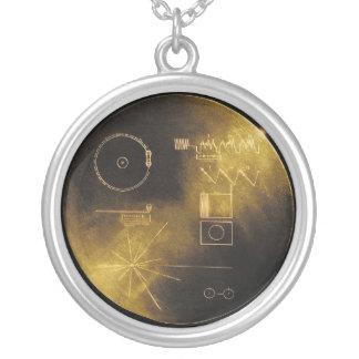 Voyager-goldene Aufzeichnung Versilberte Kette