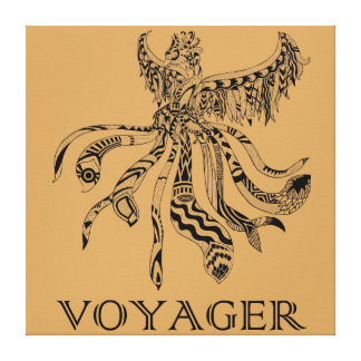 Voyager-Leinwand-Glanz-Druck Leinwanddruck