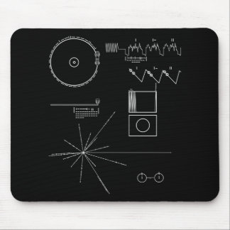 Voyager-Mitteilung Mousepad