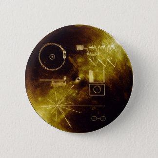 Voyager-Mitteilung Runder Button 5,1 Cm
