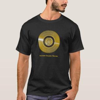 Voyager-Raumfahrzeug-goldene Aufzeichnung T-Shirt