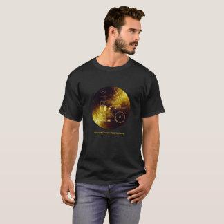 Voyager-Raumfahrzeug-goldene Rekordabdeckung T-Shirt