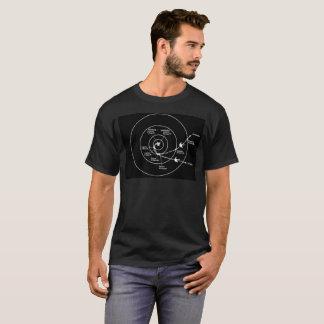 Voyager-Raumfahrzeugorbital-Flugbahn T-Shirt