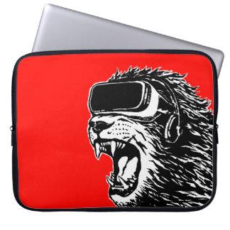 VR Löwe Laptopschutzhülle