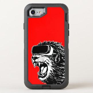 VR Löwe OtterBox Defender iPhone 8/7 Hülle
