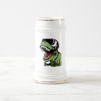 VR T-rex Bierglas