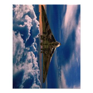 Vulcan zu den Himmeln Flyer