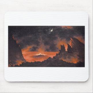 Vulkan nachts CA1880s Hawaii Mousepad