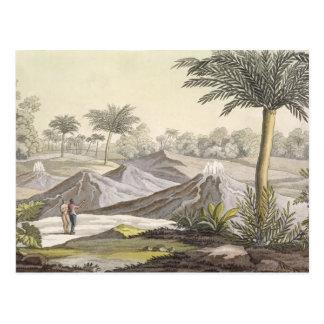 Vulkan von Ario di Turbaco nahe Cartagena, Colombi Postkarte