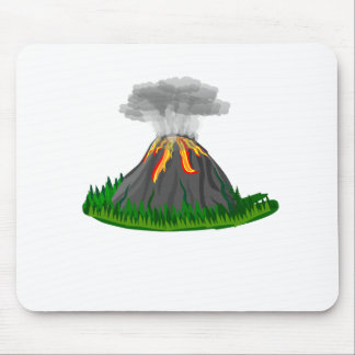 Vulkanfeuereruption Mousepads