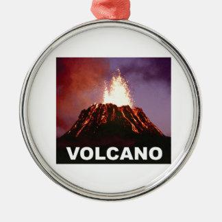 Vulkanfreude Silbernes Ornament
