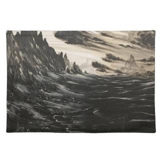 Vulkanisches Ufer Tischset