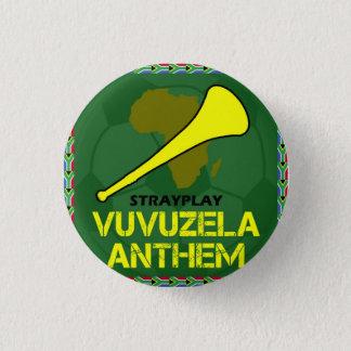 Vuvuzela Hymnen-Knopf (SML) Runder Button 3,2 Cm