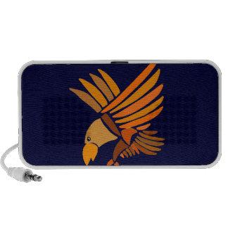 VW, ansteigender Eagle-Kunst-Entwurf iPhone Speaker