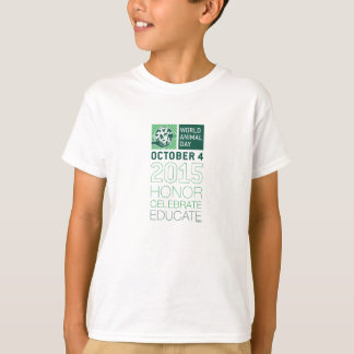 W.A.D. 2015, die Ehre feiern, erziehen das T-Stück T-Shirt