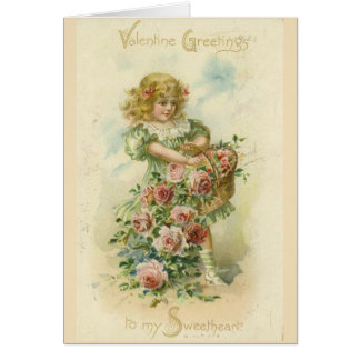 W.A. Lawson u. die Karte Valentinsgrußes Co.