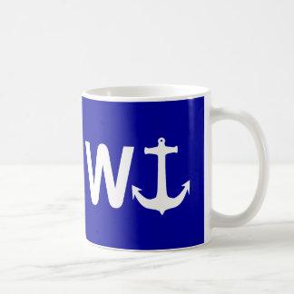 W-Anker Wanchor lustiges Witz-Geschenk Tasse