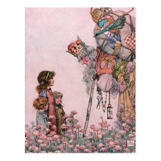 W-Heide-Robinson-Illustration Bill das minder Postkarte