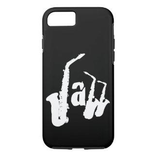 W-Jazz-Saxophon wählen Farbhintergrund Iphone iPhone 8/7 Hülle