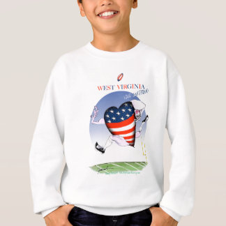 w Virginia laute und stolz, tony fernandes Sweatshirt