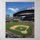 WA, Seattle, Safeco Feld, Seemannbaseball Poster