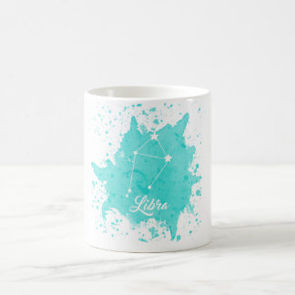 Waage-Blau-Tasse Kaffeetasse