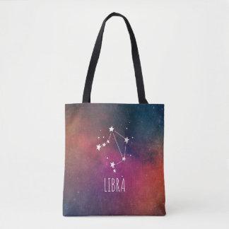Waage-Tierkreis-Galaxie Tasche