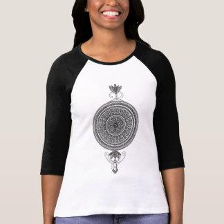 Waage-Tierkreis-Mandala T-Shirt