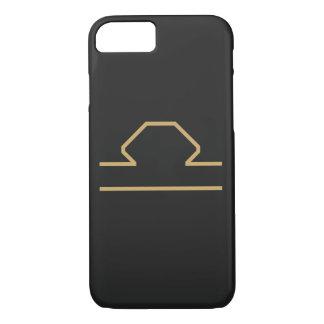 Waage-Tierkreis-Zeichen grundlegend iPhone 8/7 Hülle