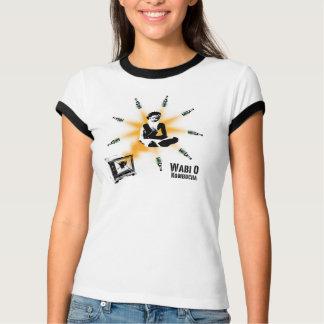 """Wabi O """"erleuchteter Yogi-"""" Frauen T-Shirt"""