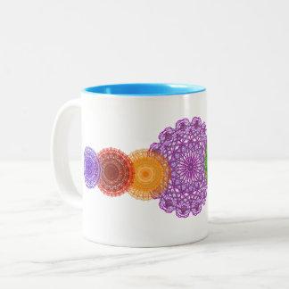 Wachen Sie Ihre Chakras Kaffeetasse auf
