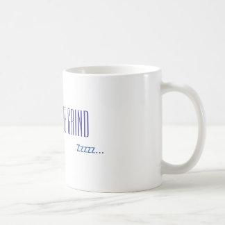 Wachen Sie Morgenkaffee auf Kaffeetasse