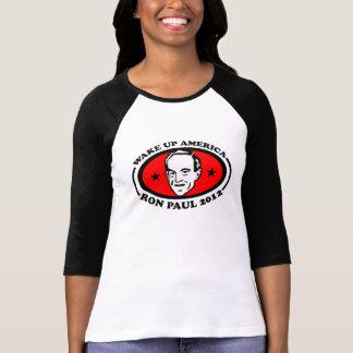Wachen Sie T-STÜCK Amerikas Ron Paul 2012 auf T-Shirt