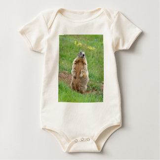 Wachpostenmurmeltier Baby Strampler
