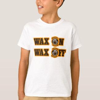 Wachs-an - Wachs weg T-Shirt