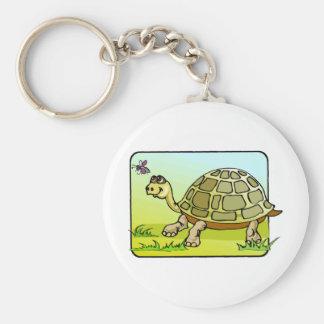 Wachsame Schildkröte Schlüsselanhänger