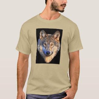 Wachsamer Wolf T-Shirt