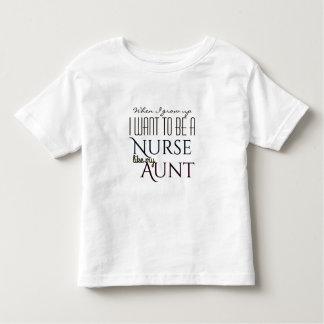 Wachsen Sie auf, um eine Krankenschwester wie Kleinkind T-shirt