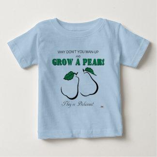 Wachsen Sie ein Birne-Licht Drucke Baby T-shirt