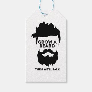 Wachsen Sie einen Bart, dann, das wir sprechen Geschenkanhänger