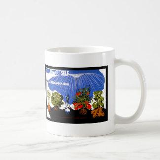 Wachsen Sie es sich ~ Pflanze ein Bauernhof-Garten Kaffeetasse