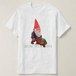 Wachsen Sie Ihren eigenen Gnome T-Shirt