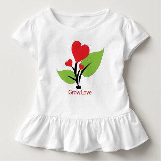 Wachsen Sie Liebe-T-Shirt für Kleinkinder Kleinkind T-shirt