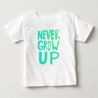 Wachsen Sie nie auf Baby T-shirt