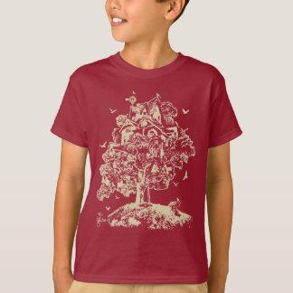 Wachsen Sie Treehouse-Shirt für Kinder auf T-Shirt