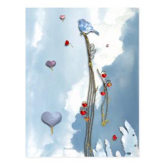 Wachsende Liebe! Postkarte