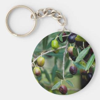 Wachsende Oliven Schlüsselanhänger