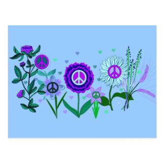 Wachsender Frieden Postkarte